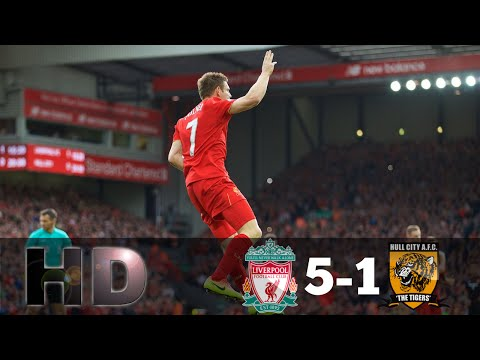 Liverpool vs Hull City 5-1 // All Goals & Full Highlights // Premier League 24/09/2016 HD