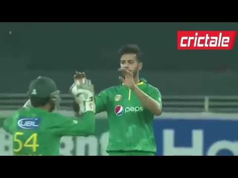West Indies Fall of Wickets VS Pakistan in 1st T20 2016 at Dubai