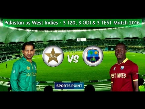 Pakistan vs West indies 2016 1st T20 Full highlights HD