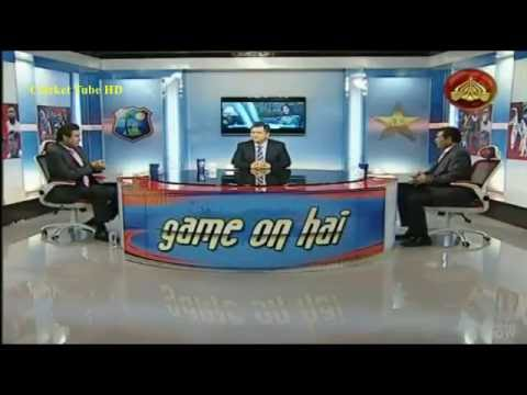 Wasim Akram Analysis on Pakistan vs West Indies 1st T20 2016 – Full Show Game on Hai !