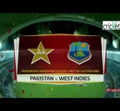 (Part 1)Pakistan vs West indies T20 2016 highlights