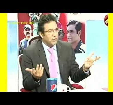 Wasim Akram Talks About Umar Akmal Discipline Issue | Pakistan vs West Indies 1st T20 2016