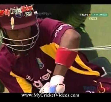 Pakistan Vs West Indies Highlights. 21 April 2011.  1st T20