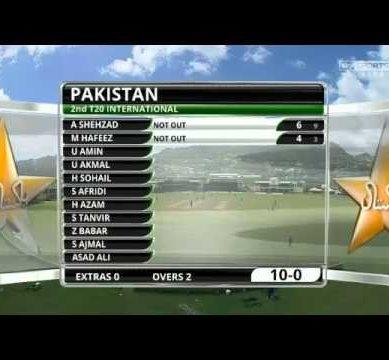 Pak Vs West Indies 2nd T20 28th July 2013 Highlights -PAK VS WI 2nd T20 2013 Pak Batting