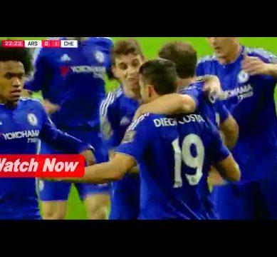 Arsenal vs Chelsea 0-1 (25/01/2016) Highlight