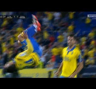 Gol de Pedro Tana Goal Las Palmas vs Real Madrid 1-2 (La Liga 2016-17) 1080p