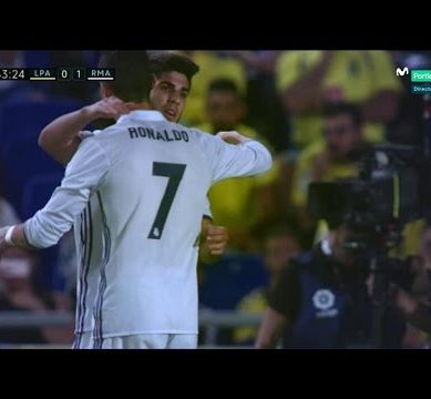 Marco Asensio Goal ~ Las Palmas vs Real Madrid 0-1 ~ 24/9/2016 [Liga Santander]