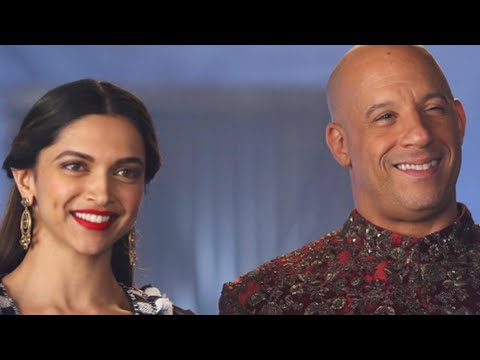 Hot ! Deepika Padukone With Vin Diesel In Red Sherwani