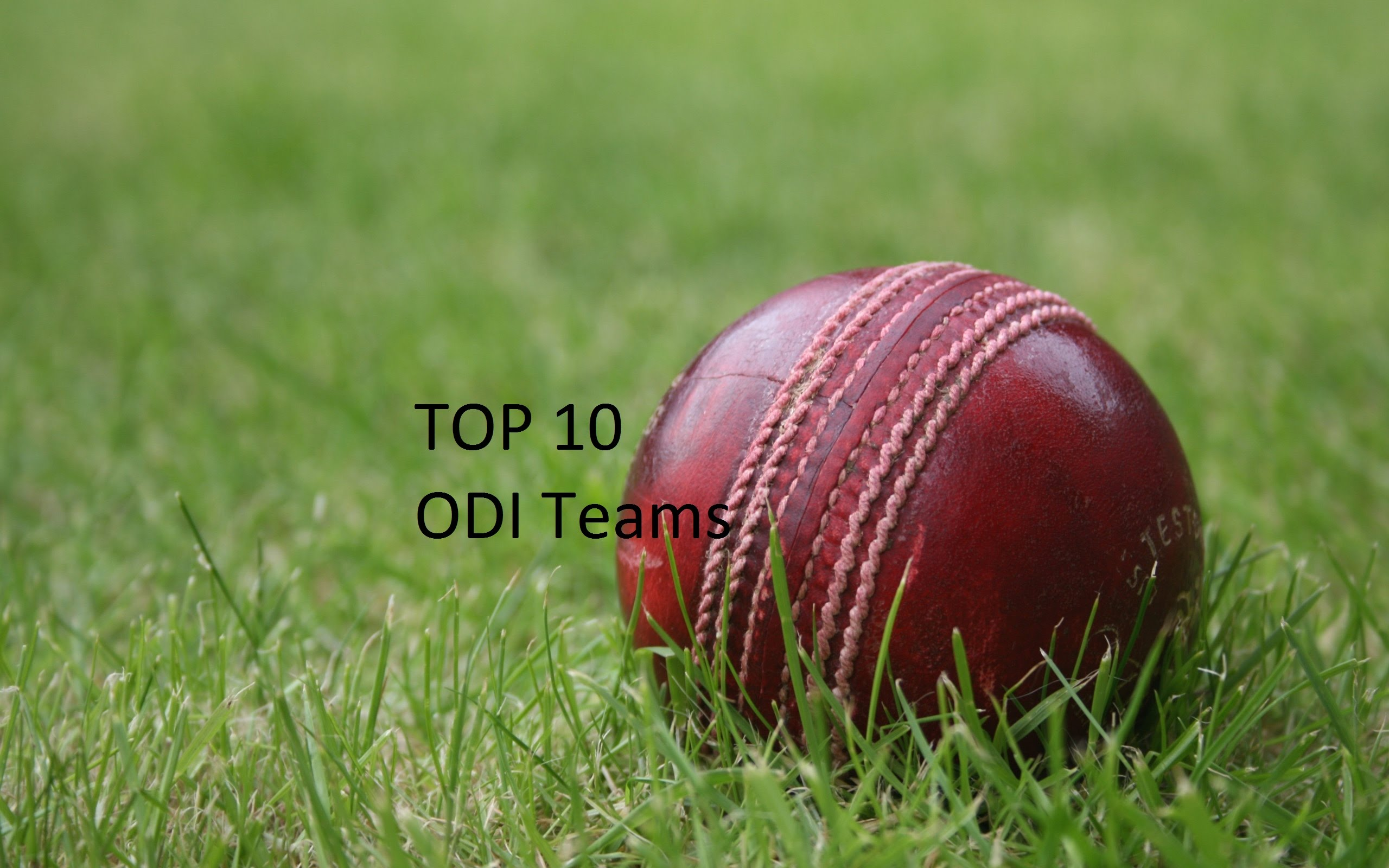 Top 10 Odi  Teams Ranking Icc
