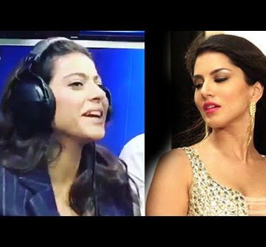 Kajol Hilarious Video On Sunny Leone Baby Doll Goes Viral