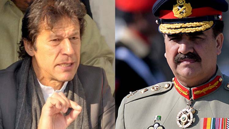 Imran Khan Calls On Raheel Sharif