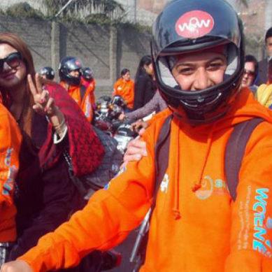 Women's Bike Rally, Karachi