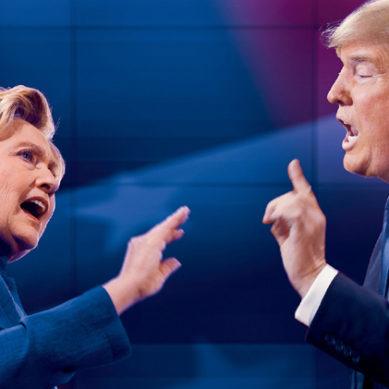 Presidential Debate: Trump & Hillary