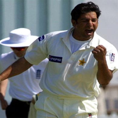 Wasim Akram Bowling After Years