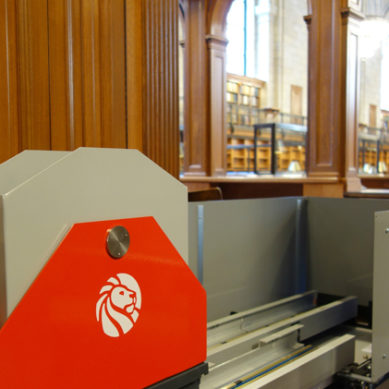 New York Public Library's Book Train Conveyor System