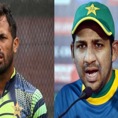 Manchester Press Conference: Sarfraz Ahmed & Wahab Riaz