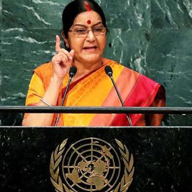 Isolate Nations Which Export Terrorism: Sushma Suwaraj