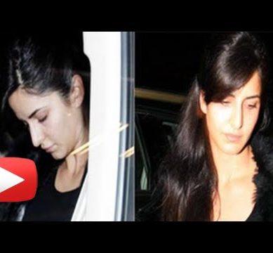 Katrina Kaif Caught Sleeping, Dancing With Police