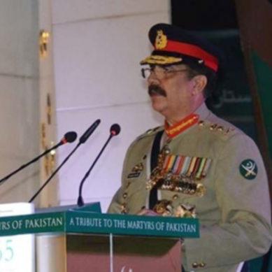 Gen. Raheel Sharif's Address At GHQ