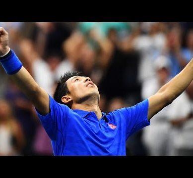 Kei Nishikori Stuns Andy Murray |US Open 2016 | Quarter-Finals |