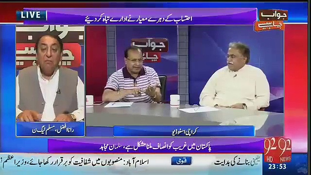 PML-N's Leader Rana Afzal Threatens During Live Show