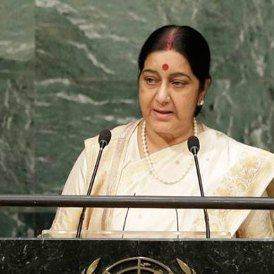 Pakistan Castigates Sushma Swaraj's Speech At The United Nations
