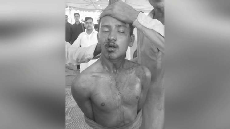 Suicide Bomber Caught Before Carrying Blast