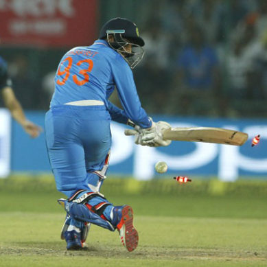 2nd ODI Ind-NZ: Highlights Of India's Inning