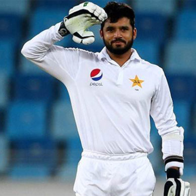 Azhar Ali Scores 91 Runs Against West Indies In 3rd Test