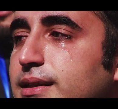 Bilawal Breaks Down Into Tears