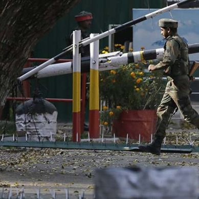 Indian Army Base In Indian-Occupied Kashmir Comes Under Attack