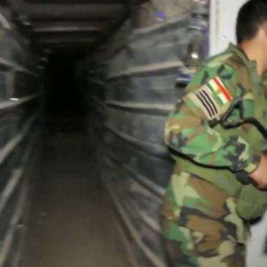 Inside ISIS Underground Tunnels And Bunkers in Iraq