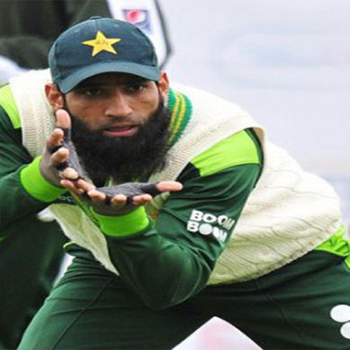 Muhammad Yousuf Playing With Tape Ball