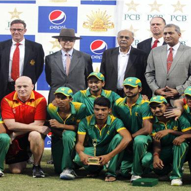 Pakistan Youth XI Beat Australian Army In T20 Match
