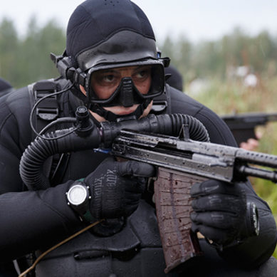 Russian Marine Special Forces Underwater Gunfire