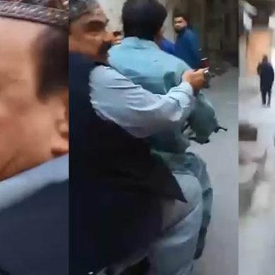 Shaikh Rasheed Rides On Motorbike
