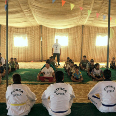 Taekwondo Teaches Syrian Refugees Self Reliance