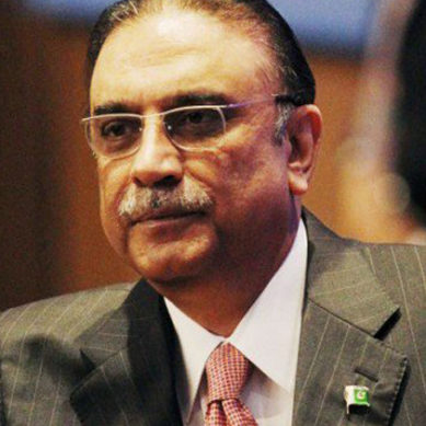 Asif Zardari: War Is No Solution