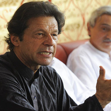 Bani Gala: Imran Khan Media Talks