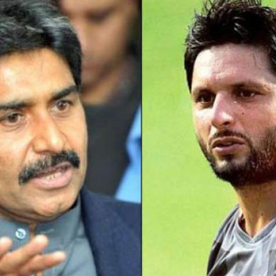 Afridi Spoke Out Against Miandad