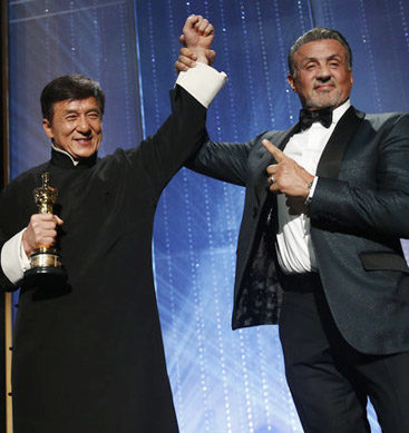 Jackie Chan Becomes Emotional After Receiving Oscar