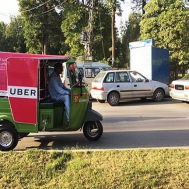 Uber Launches UberAuto Rickshaw Service In Karachi
