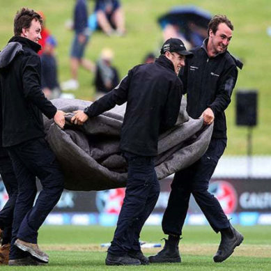 Pak Vs NZ: Play Halted At 21 Overs Because Of Rain