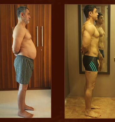 Aamir Khan Body Transformation For Dangal