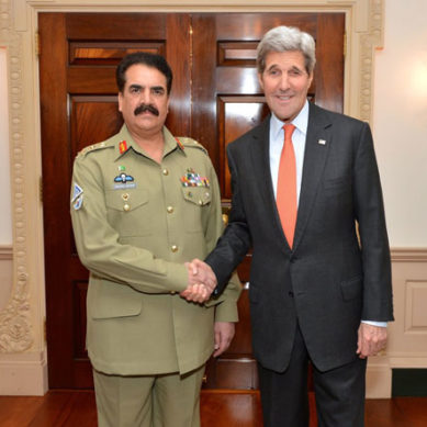 General Sharif Valued Partner Against Terrorism: US