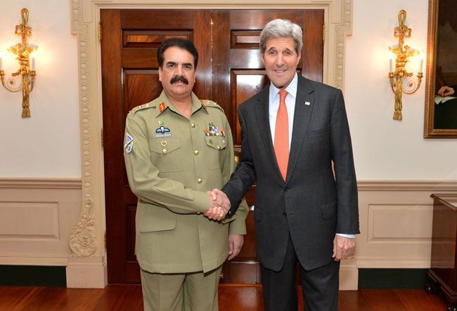 General Sharif Valued Partner Against Terrorism: US