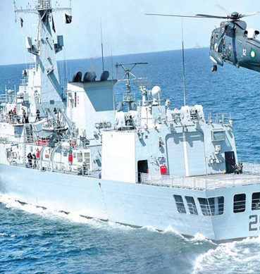 CPEC: Pak-China Naval Exercise Begins