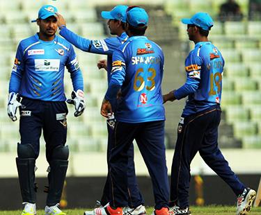BPL: Dhaka Dynamites Beat Barisal Bulls
