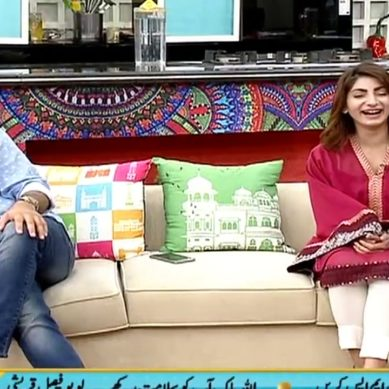 Faisal Qureshi Leaves Show Because Of Actress Maryam Ansari