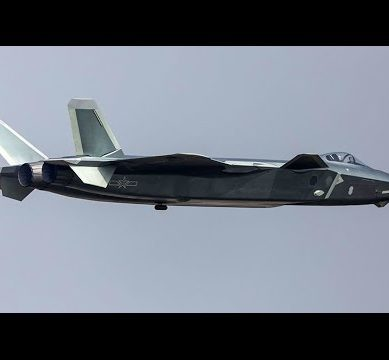 China Unveils Highly Anticipated Stealth Fighter In Fly Over at Air Show